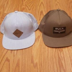 RVCA Mid Fit Caps Set
